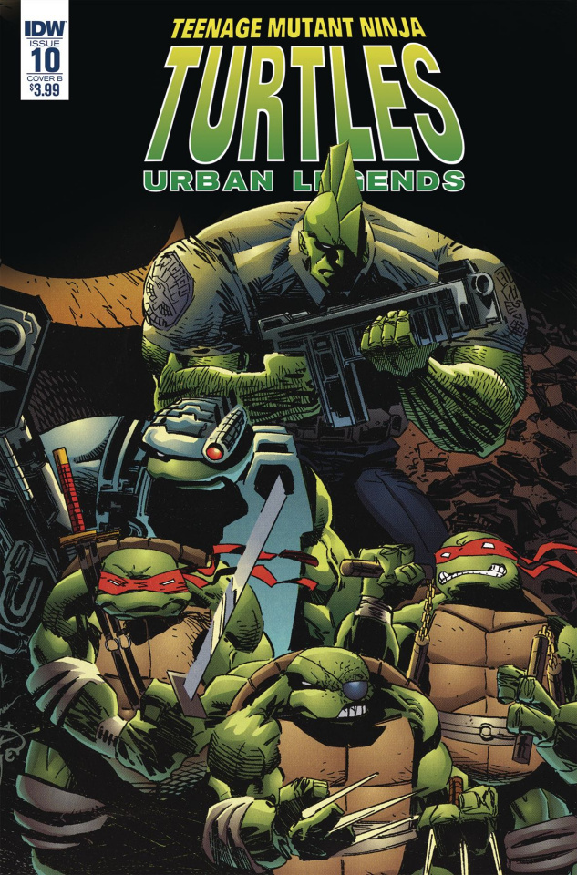 Teenage Mutant Ninja Turtles: Urban Legends #10 (Fosco & Larsen Cover)