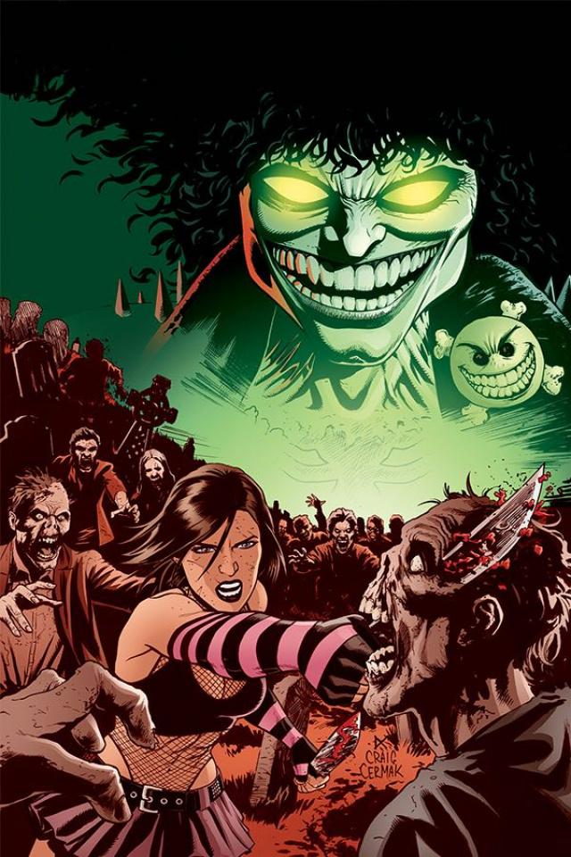 Hack / Slash vs. Chaos! #2 (30 Copy Cermak Virgin Cover)