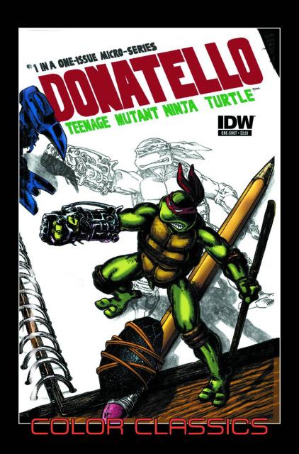 TMNT Color Classics Micro Series: Donatello