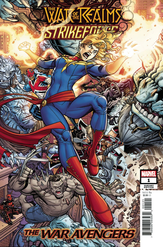 The War of the Realms: Strikeforce - The War Avengers #1 (Bradshaw Cover)