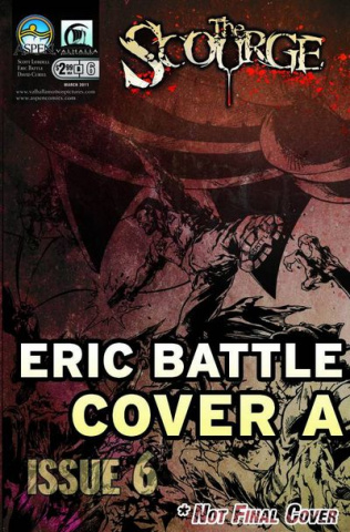 The Scourge #6 (Battle Cover)
