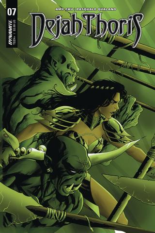 Dejah Thoris #7 (McKone Cover)