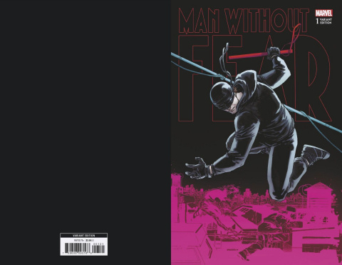 The Man Without Fear #1 (Camuncoli Connecting Cover)