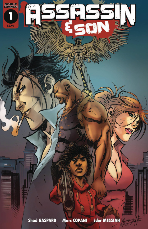 Assassin & Son #1 (Messiah 10 Copy Buy In Cover)