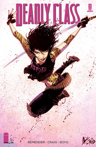 Deadly Class #35 (Scalera Cover)
