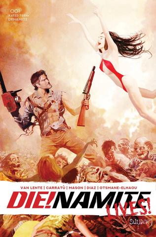 DIE!namite Lives! #1 (25 Copy Suydam Non Zombie Cover)