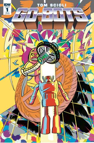 Go-Bots #1 (10 Copy Shaw Cover)
