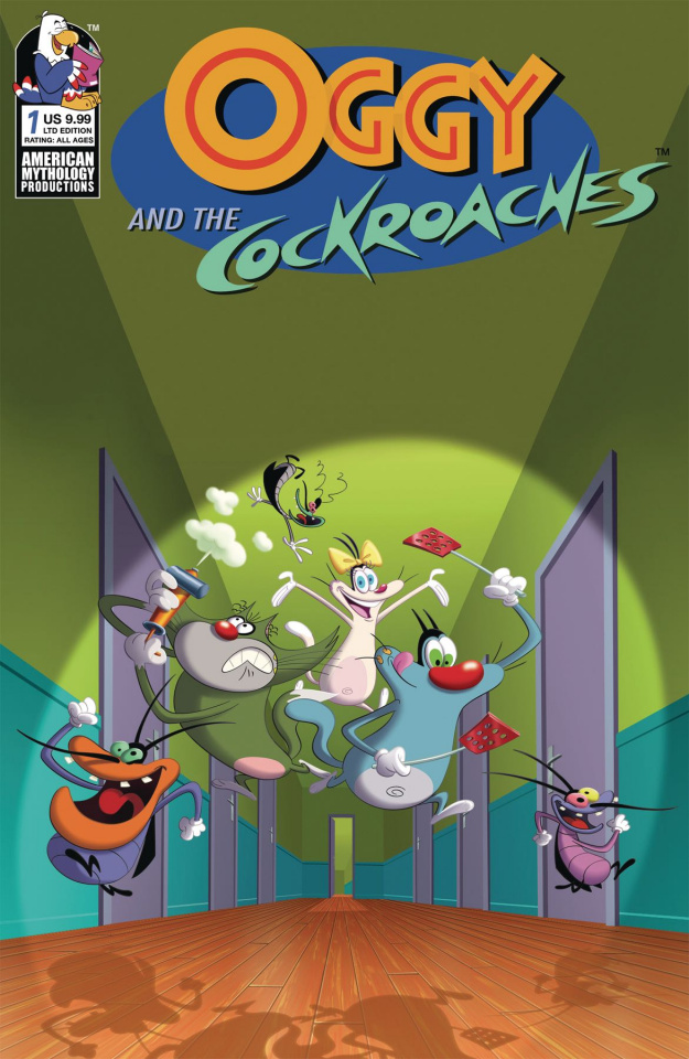 Oggy and the Cockroaches #1 (Animation Cel Cover)
