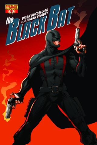 The Black Bat #4 (Benitez Cover)