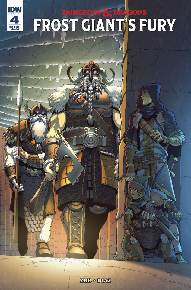 Dungeons & Dragons: Frost Giant's Fury #4