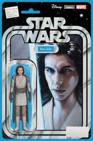 Star Wars: The Rise of Kylo Ren #1 (Christopher Action Figure Cover)