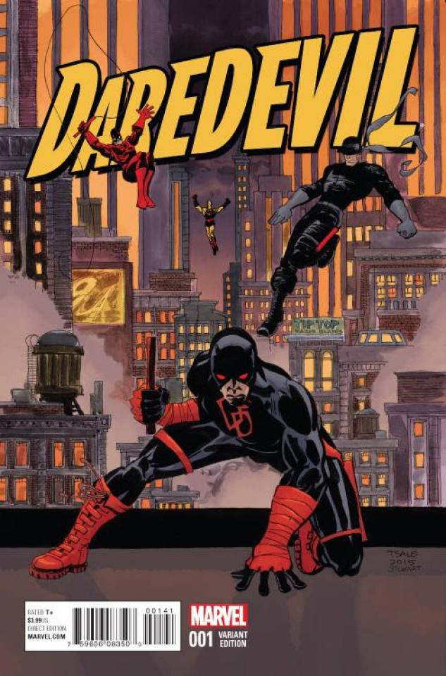 Daredevil #1 (Sale Cover)