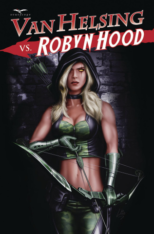 Van Helsing vs. Robyn Hood #4 (Williams Cover)