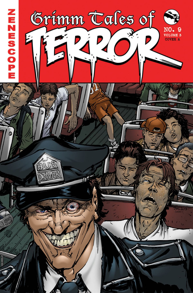 Grimm Tales of Terror #9 (Leister Cover)