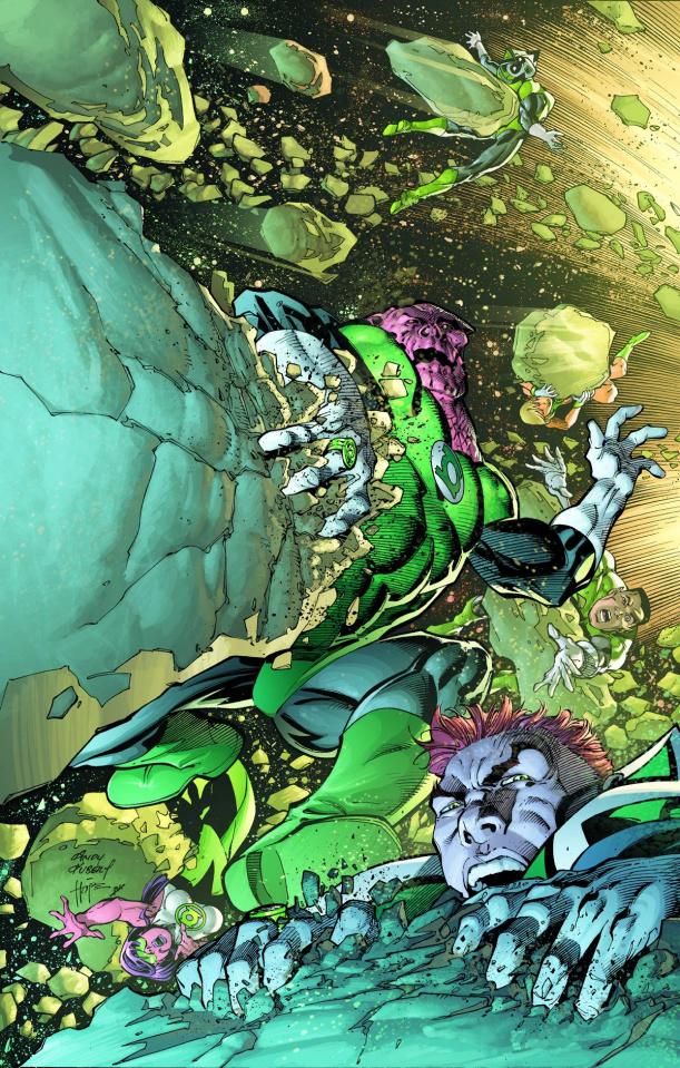 Green Lantern Corps #19