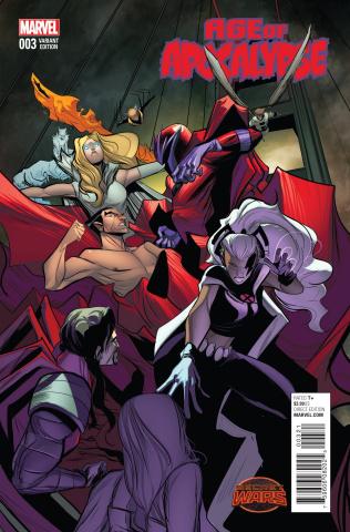 Age of Apocalypse #3 (Rodriguez Cover)