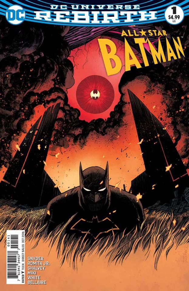 All-Star Batman #1 (Shalvey Cover)