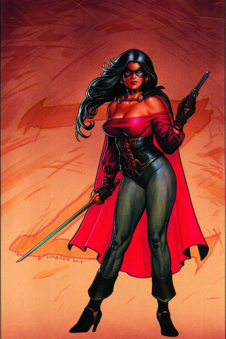 Lady Zorro #1 (High End Linsner Virgin Cover)