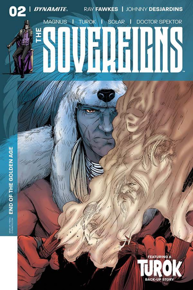 The Sovereigns #2 (Sarraseca Cover)