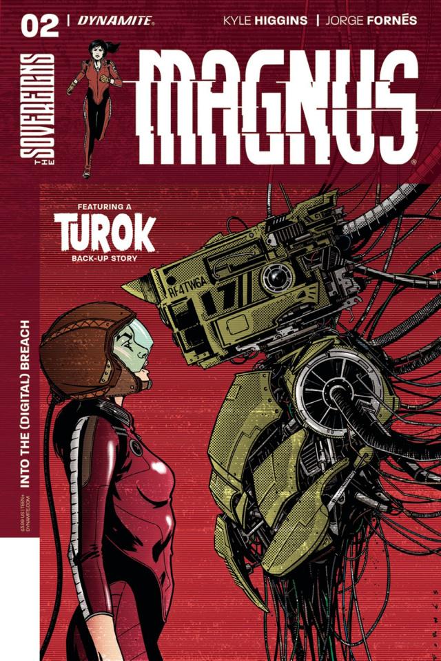 Magnus #2 (Fornes Cover)