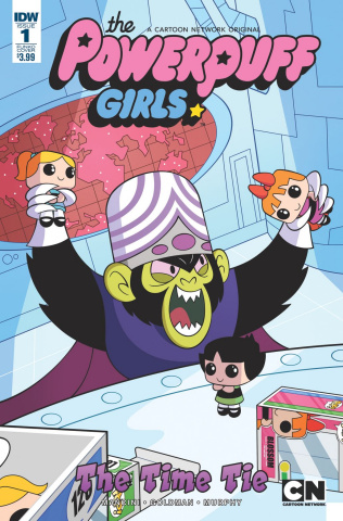 The Powerpuff Girls: Time Tie #1 (Subscription Cover)