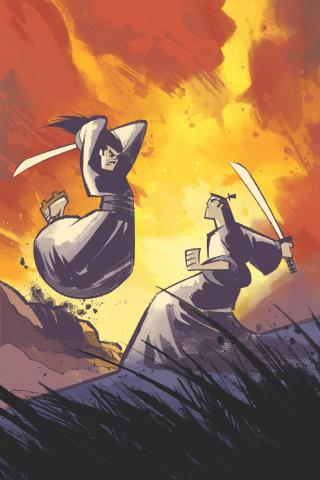Samurai Jack: Lost Worlds #1 (Thomas Cover)