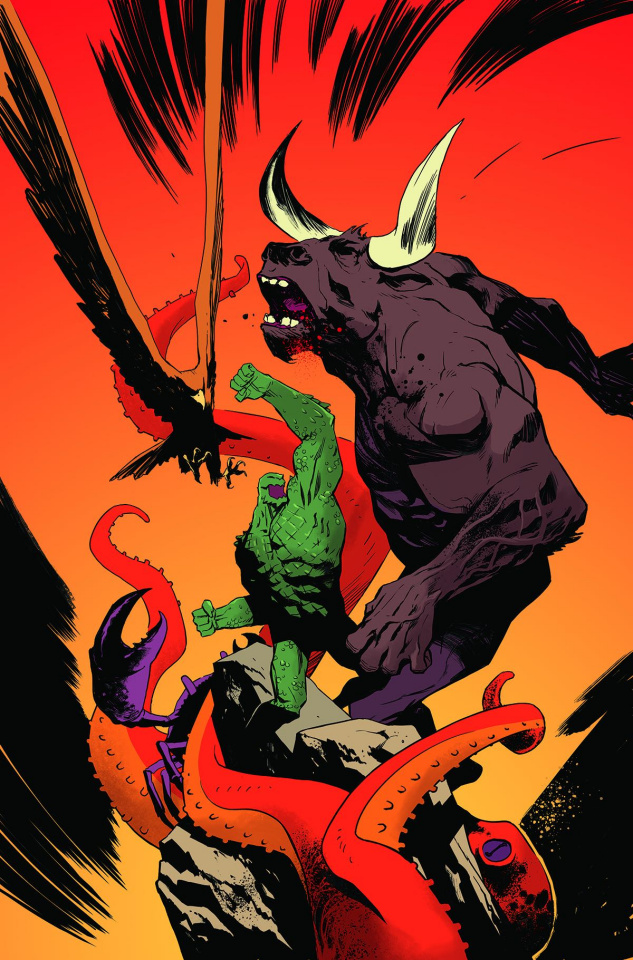 Suicide Squad's Most Wanted #3: El Diablo & Killer Croc
