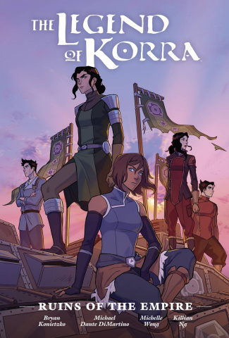 The Legend of Korra: The Ruins of the Empire (Library Edition)