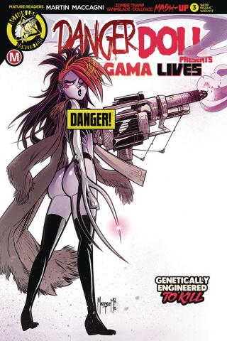 Danger Doll Squad Presents: Amalgama Lives #3 (Maccagni Cover)
