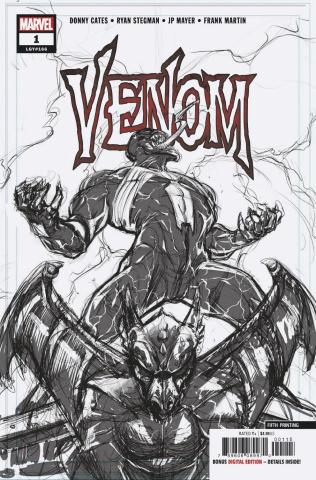 Venom #1 (Stegman 5th Printing)