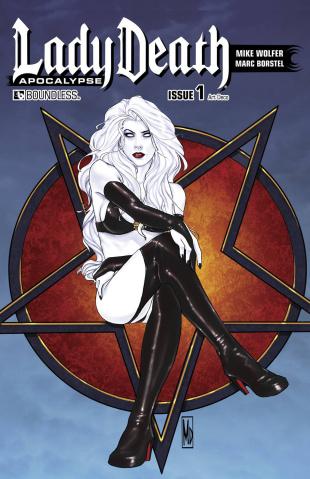 Lady Death: Apocalypse #1 (Art Deco Cover)