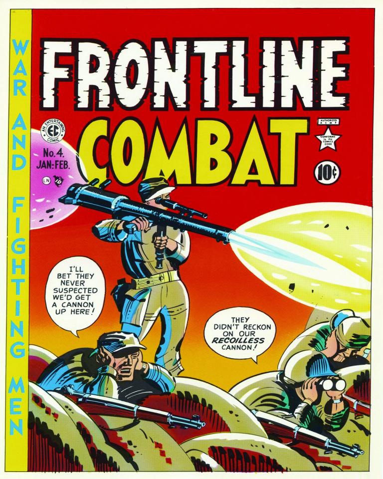 The EC Archives: Frontline Combat Vol. 1