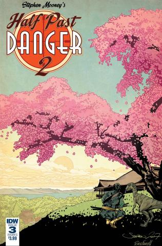 Half Past Danger II: Dead to Reichs #3 (Mooney Cover)