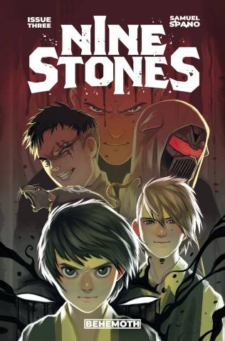 Nine Stones #3 (Spano Cover)