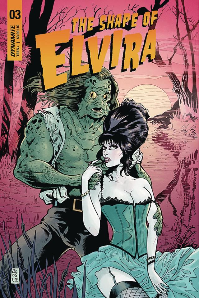 The Shape of Elvira #3 (Acosta Cover)