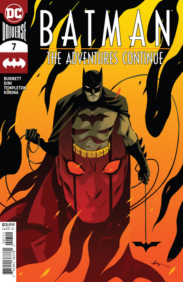 Batman: The Adventures Continue #7 (Becky Cloonan Cover)