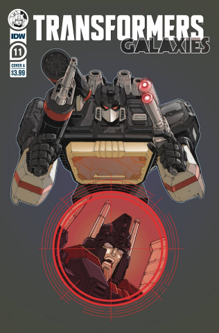 Transformers: Galaxies #11 (Griffith Cover)