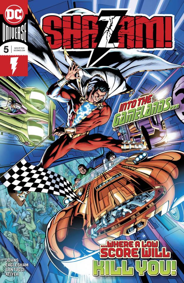 Shazam! #5 (Variant Cover)
