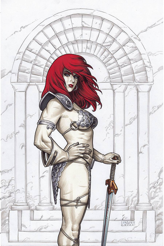 Red Sonja #22 (Linsner Virgin Cover)