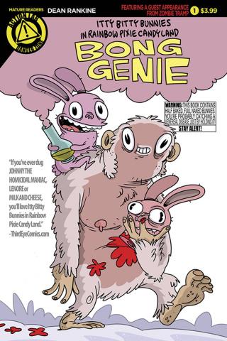 Itty Bitty Bunnies in Rainbow Pixie Candy Land: Bong Genie #1