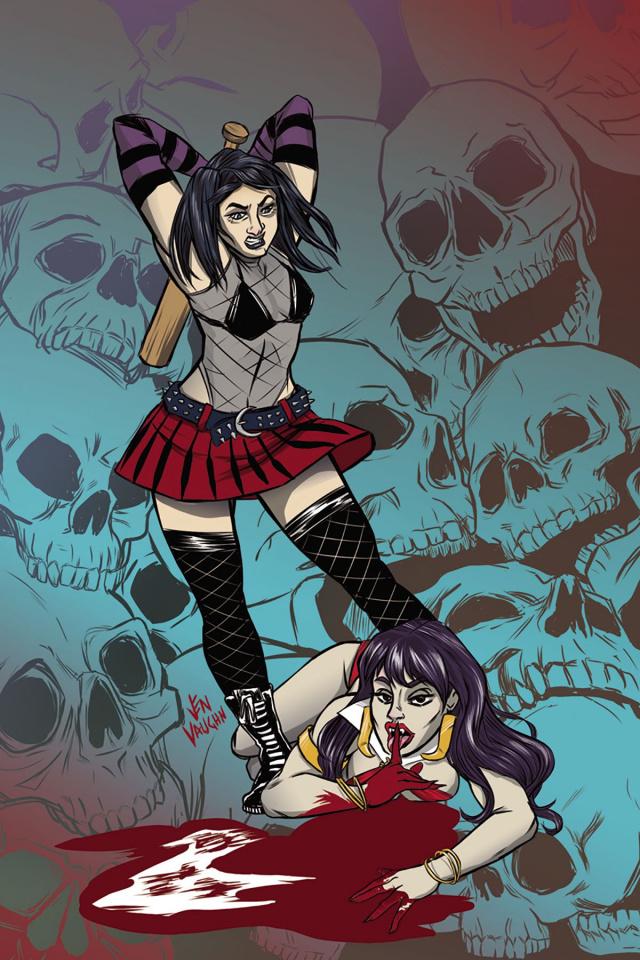 Hack/Slash vs. Vampirella #3 (10 Copy Cover)