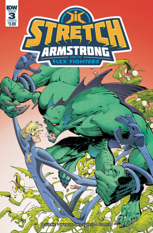 Stretch Armstrong and the Flex Fighters #3 (Koutsis Cover)