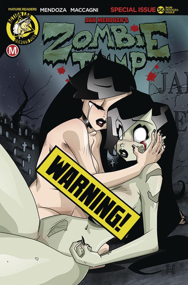 Zombie Tramp #56 (Mendoza Risque Cover)
