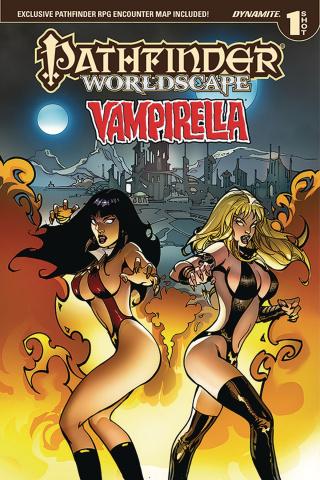Pathfinder Worldscape: Vampirella (Kickstarter Edition)