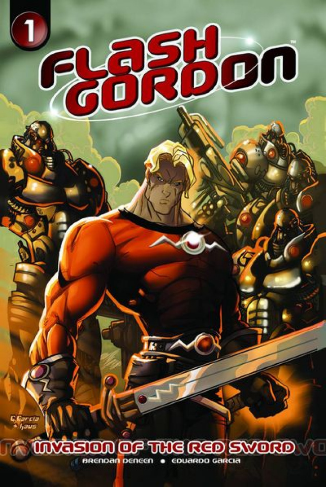 Flash Gordon: Invasion of the Red Sword #1