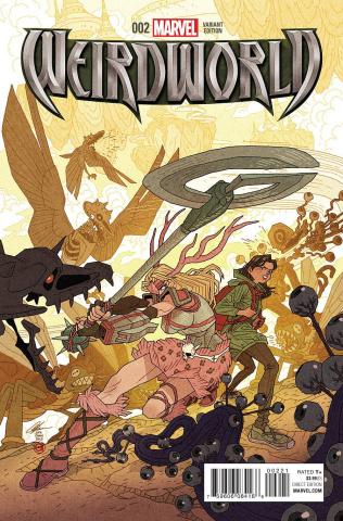 Weirdworld #2 (Chan Cover)