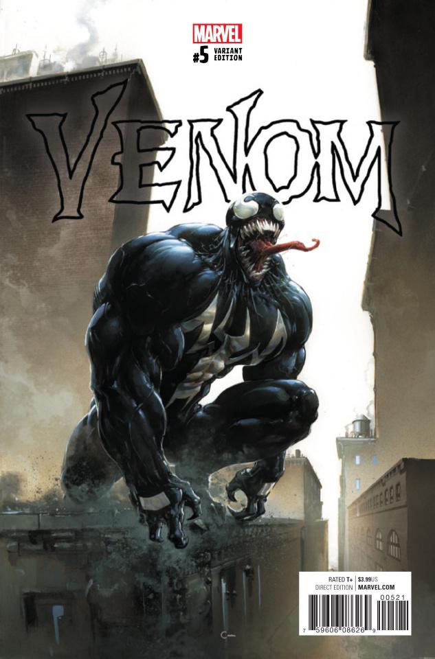Venom #5 (Crain Cover)