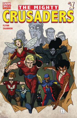 The Mighty Crusaders #1 (Smith Cover)
