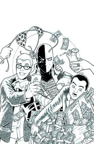 Green Team: Teen Trillionaires #3 (Variant Cover)