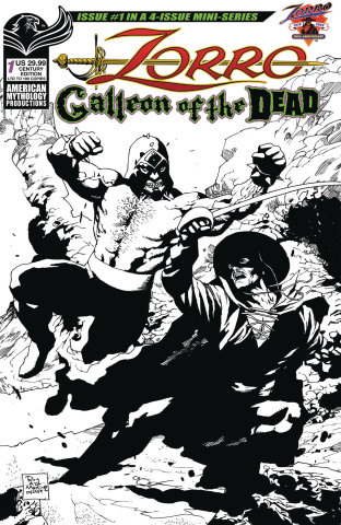 Zorro: Galleon of the Dead #1 (Century Cover)